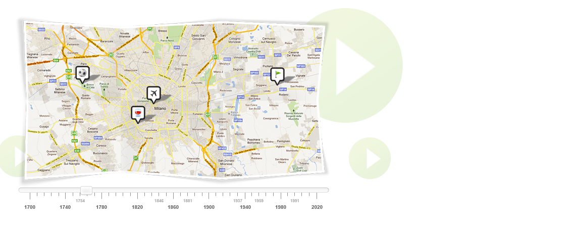 Create free interactive timelines stories displayed on Create a map online free